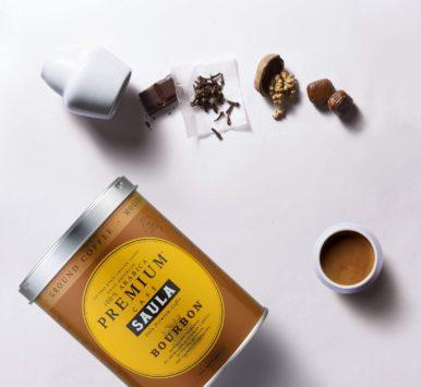 Café 100% Arábica variedad Bourbon Saula