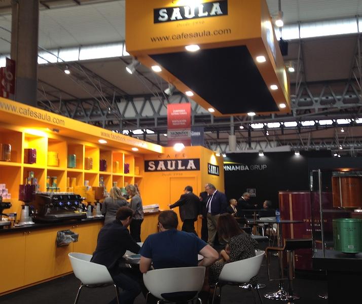 Café Saula participa en el Salón Hostelco 2014