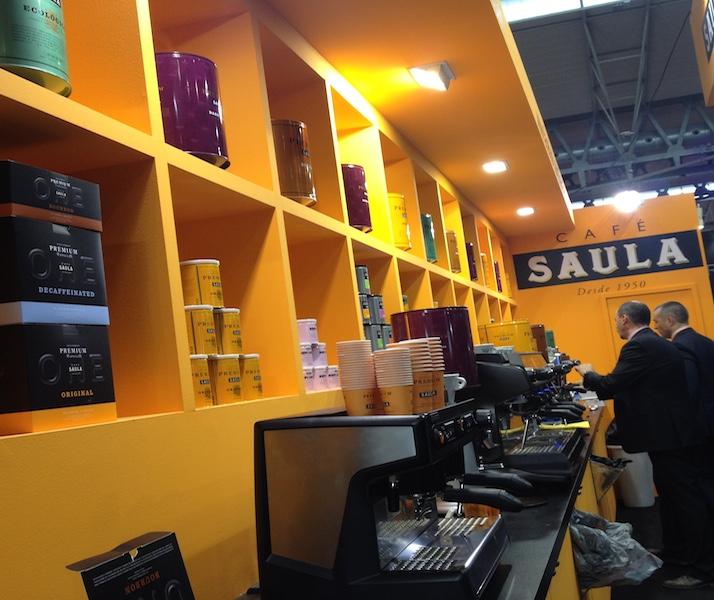 Cafè Saula participa en el Saló Hostelco 2014