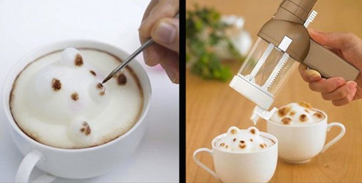Latte Art en 3D