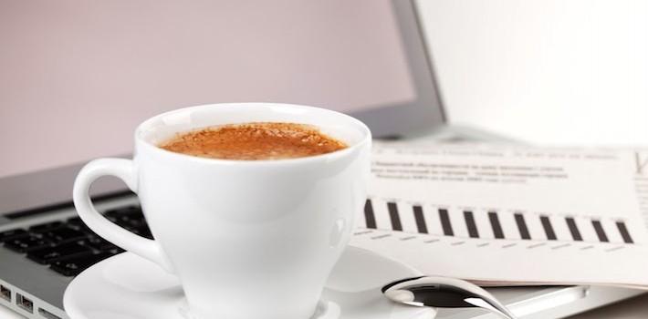 café y síndrome postvacacional