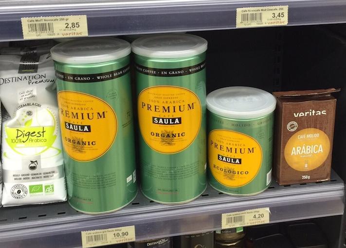 Café Saula llega a los supermercados Veritas