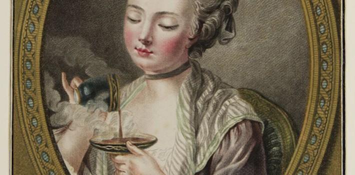 The-woman-taking-coffee-Leonard-Marin