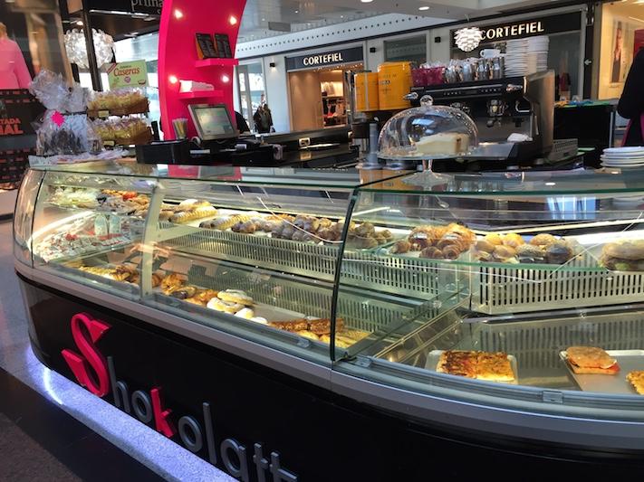 Shokolatt, una cafetería con forma de bombón