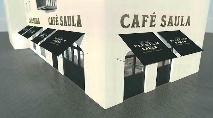 Café Saula Port Aventura coffee shop