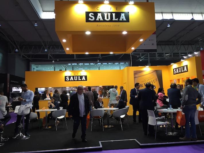 Café Saula en Alimentaria 2016