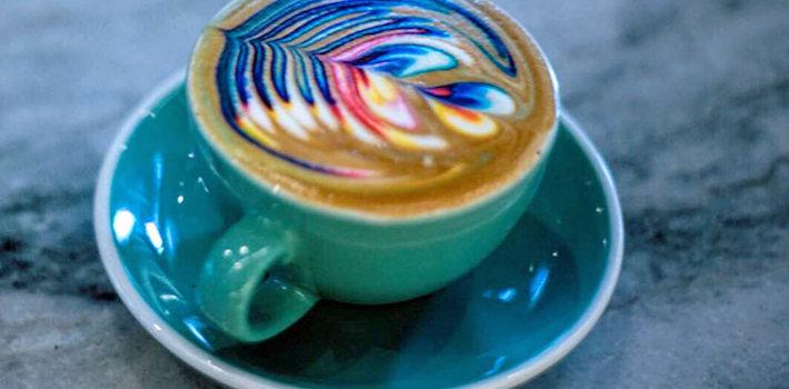 latte arte cafe saula