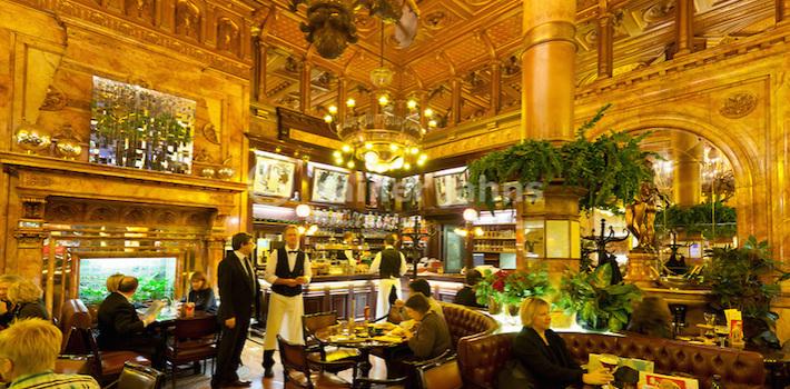 Belgien, Provinz Brabant, Bruessel: Cafe Metropole, Bar und Restaurant des Hotel Metropole (de Brouckereplein)