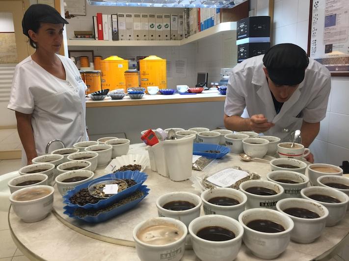 Tast de cafè a la brasilera
