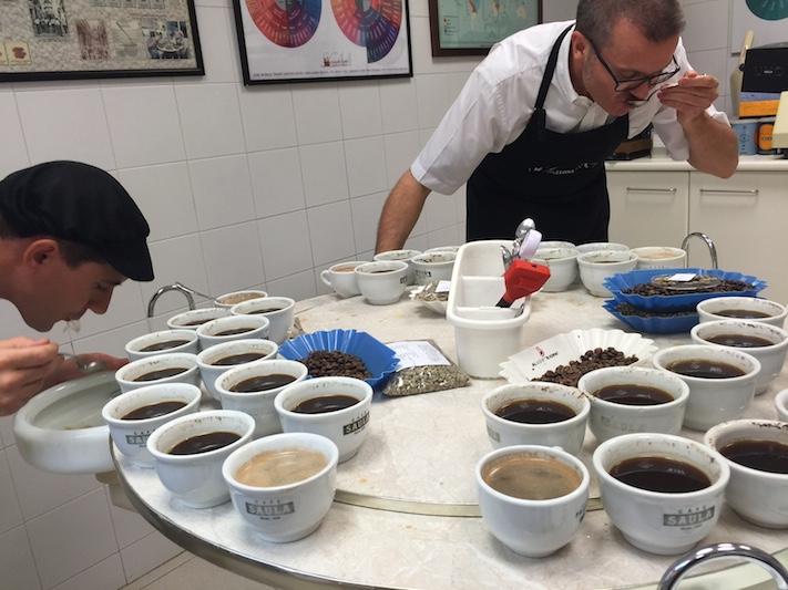 Cata de café a la brasileña