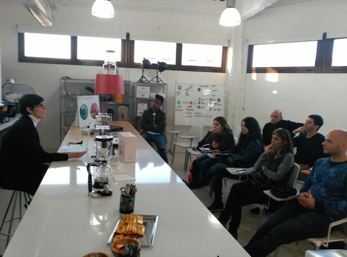Café Saula hace formación barista a los alumnos de la ESHOB