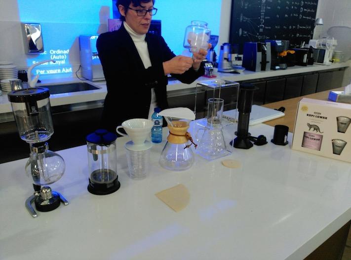 Café Saula fa formació barista als alumnes de l'ESHOB