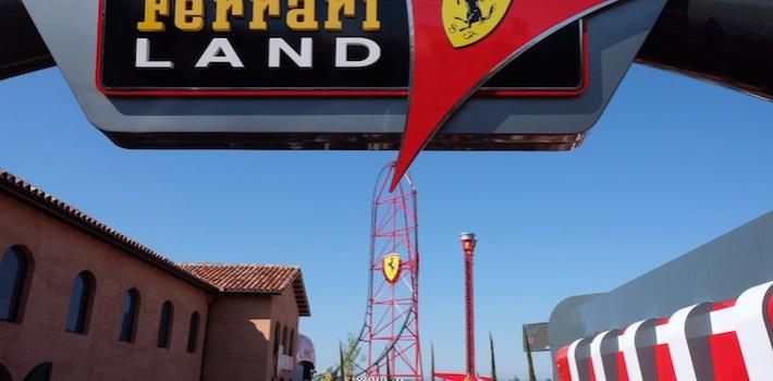 Café Saula en Ferrari Land
