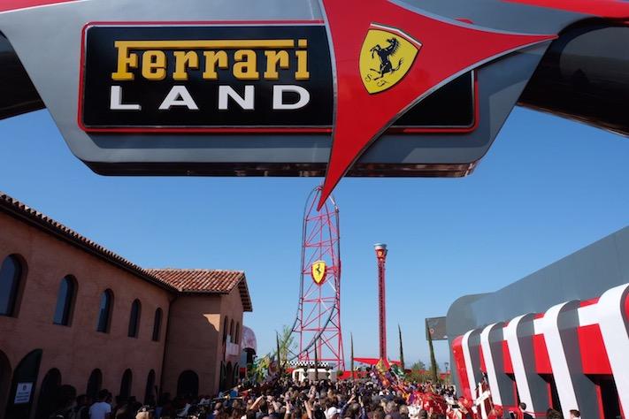 Ferrari Land ofereix Café Saula als seus restaurants i cafeteries