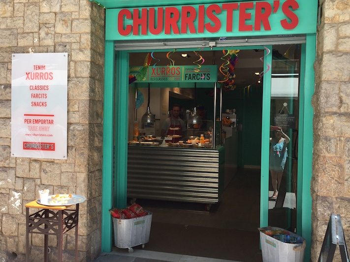 Churrister's, un nou concepte de xurreria a Sitges