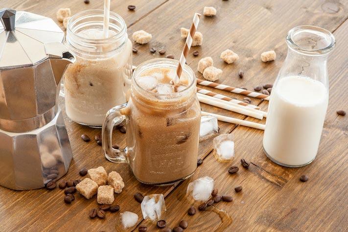 cafe en verano