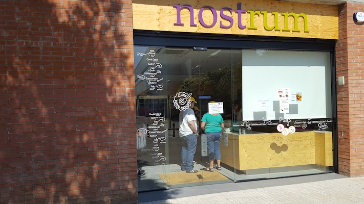 Nostrum en Girona, productos 100% naturales