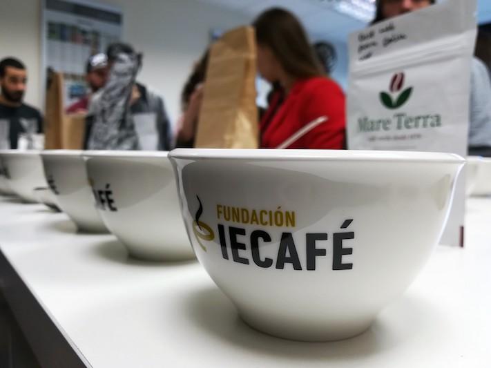 Café Saula visita la Fundación Instituto Español de Café