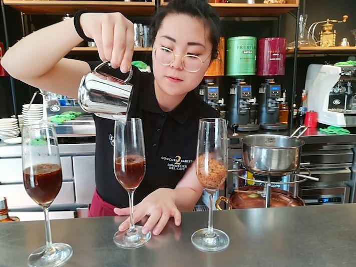 Celebrada la semifinal del II concurs 'El sommelier del cafè'