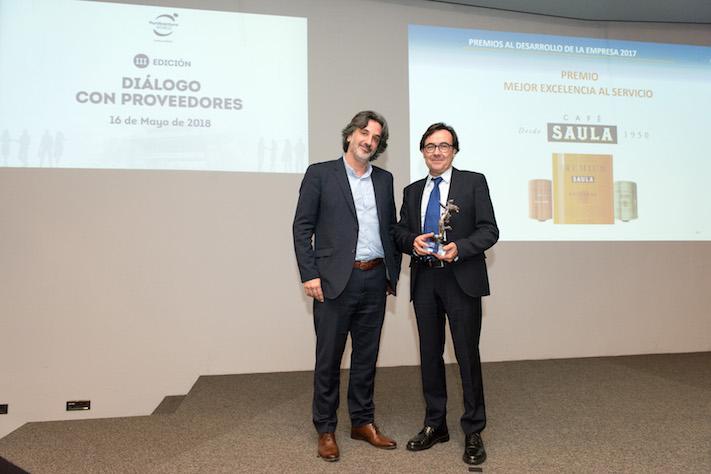 Café Saula, Premio a la Excelencia en el Servicio de Port Aventura World Parks & Resort