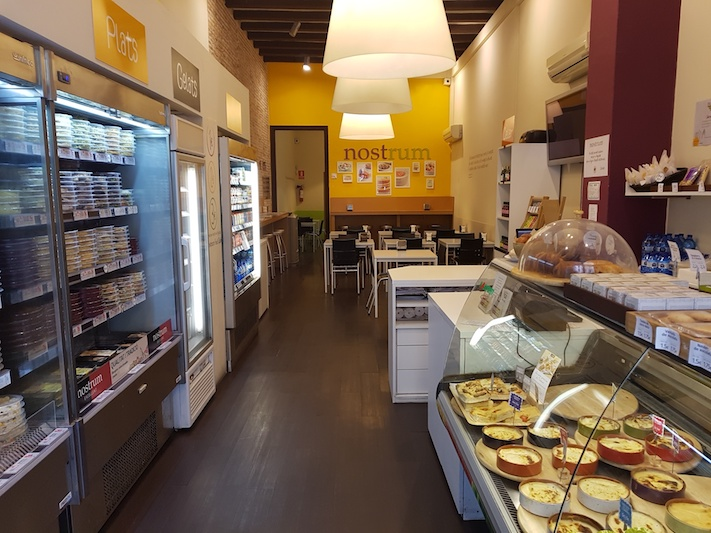 Nostrum Bruc (Barcelona) comida de calidad para llevar