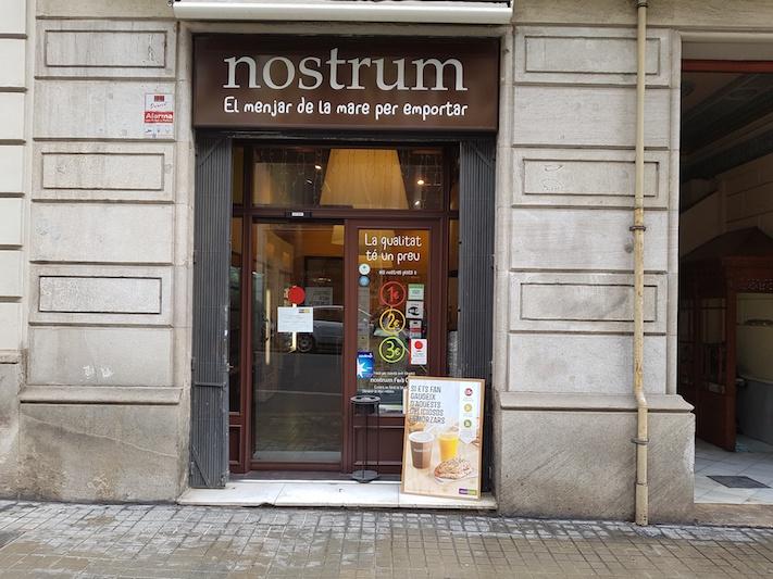 Nostrum Bruc (Barcelona) menjar de qualitat per endur