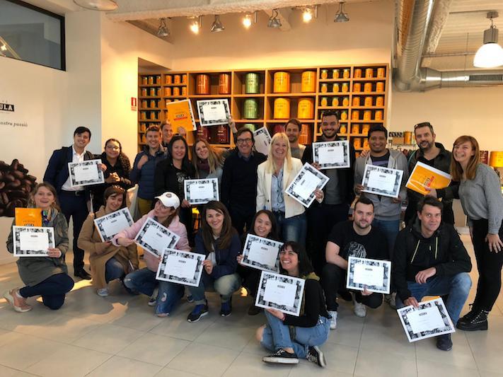 Café Saula fa un nou curs de formació als alumnes de la Eshob