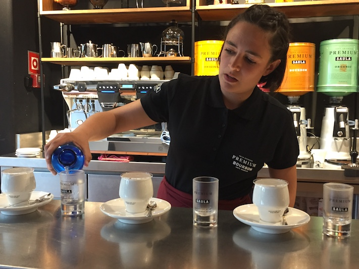 Patricia Jabalera, Raquel Fernández i Cristina Riera, guanyadores de l'III Concurs El Sommelier del Cafè
