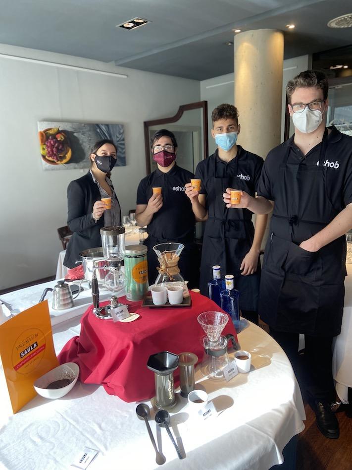 Nueva formación sobre métodos para infusionar café en la ESHOB