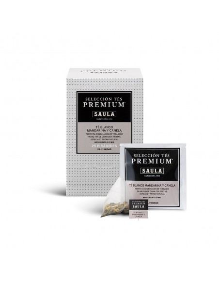 MANDARIN AND CINNAMON WHITE TEA