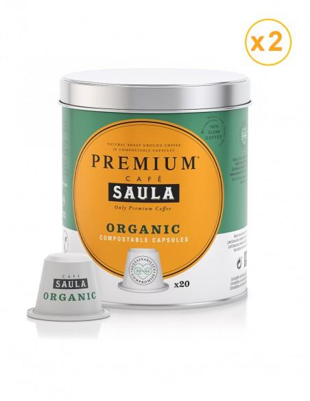 cápsulas café organic Saula