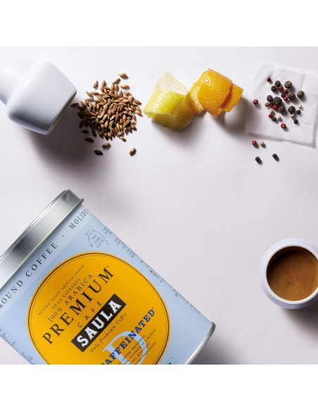 aroma cafe descafeinado Saula
