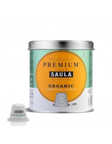Compostable capsules with organic...